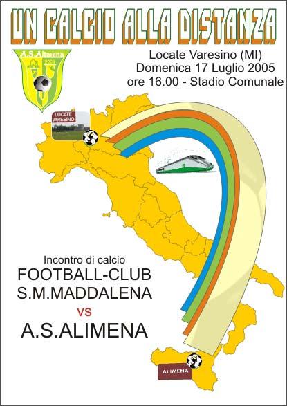 I° RADUNO COMUNITA' ALIMENESE - 17 Luglio 2005