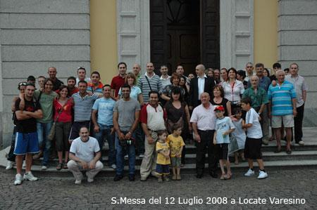 S.Messa del 12 Luglio 2008