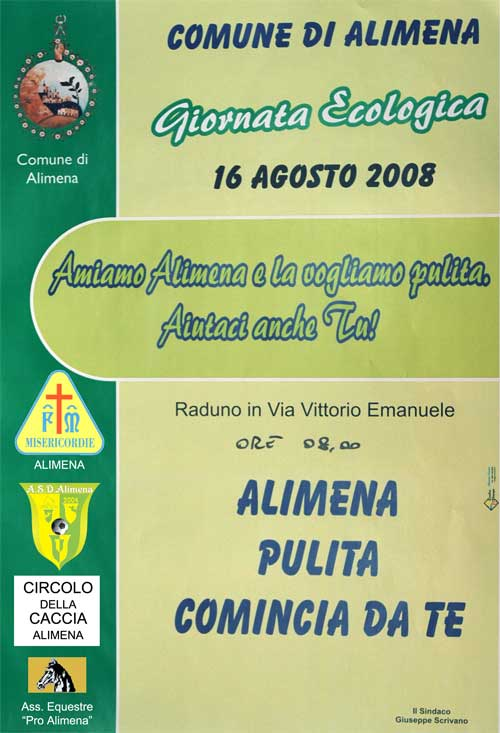 Giornata Ecologica:Alimena pulita