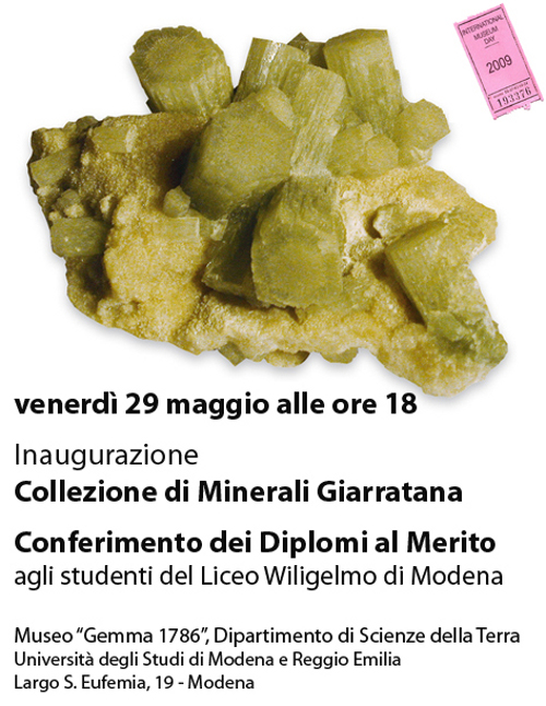Collezione Minerali piero Giarratana