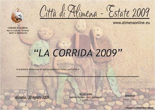 Pergamena Corrida 2009