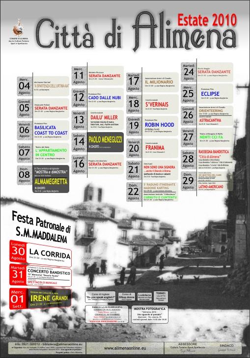 Programma Estate Alimena 2010