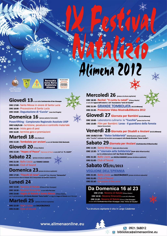 IX Festival natalizio 2012