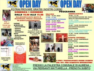 Alimena (PA) - Open day della Sicilia Powerlifting
