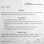 """Alimena (Pa) – Non si placano le polemiche. """"Amare Alimena"""" attende il Sindaco in Consiglio Comunale"""