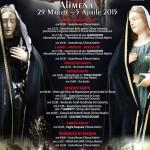 Pasqua ad Alimena 2015: programma della Settimana Santa