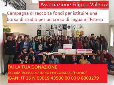 Donazione per Liceo Linguistico di Alimena