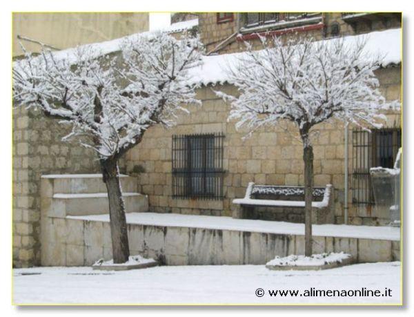 Nevicata Alimena 2005