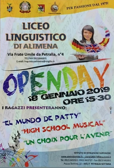 Open Day Liceo Linguistico di Alimena
