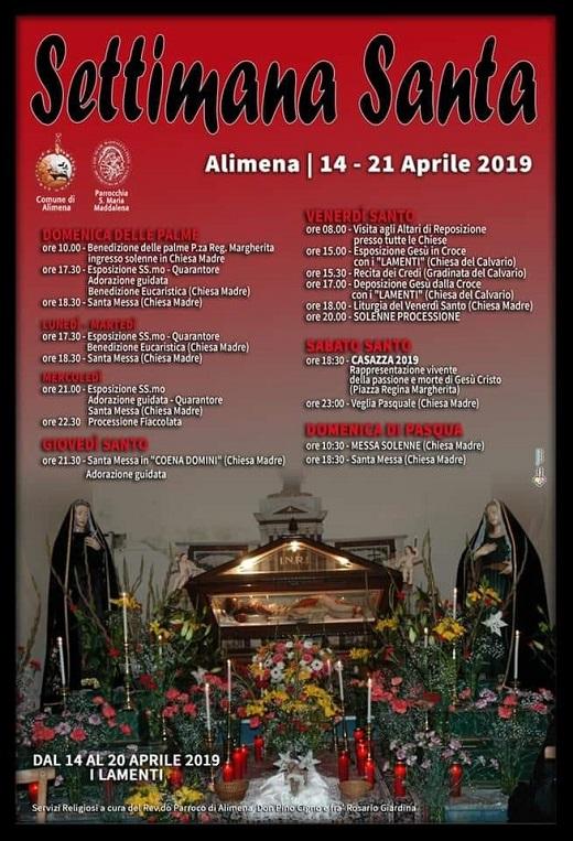 Settimana Santa Alimena 2019