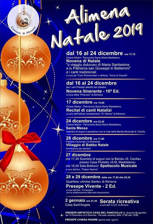 programma Natale 2019 Alimena