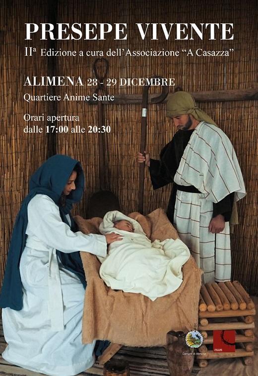 presepe vivente Alimena 2109