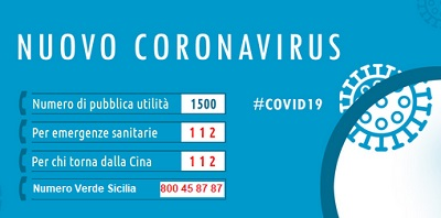 Numeri utili coronavirus